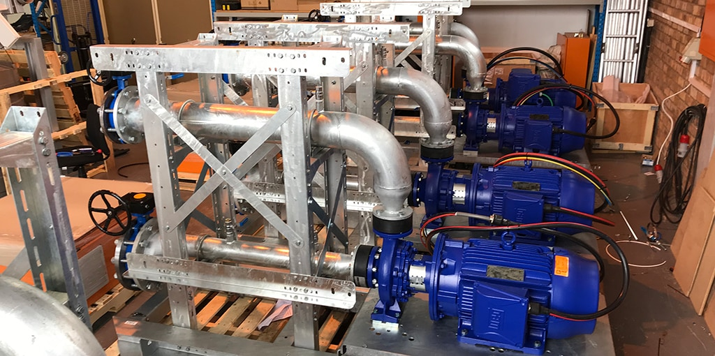 Shock-Wave-Engineering - IoT - Pump Optimiser. Saving energy consumption on pumping systems
