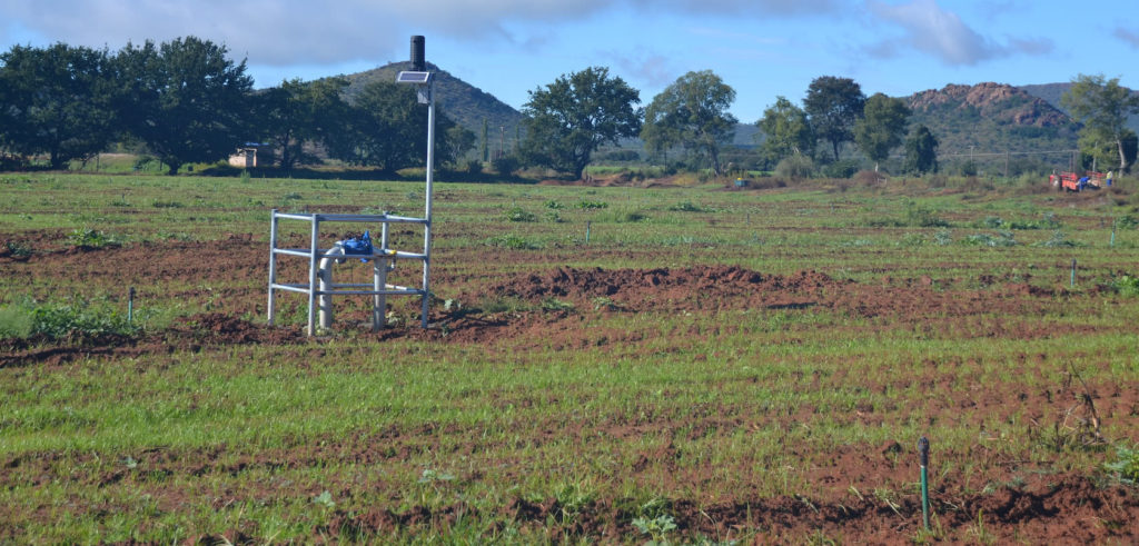 Shock Wave Engineering - IoT Orchard and Permaset Optimiser valve control station in Field