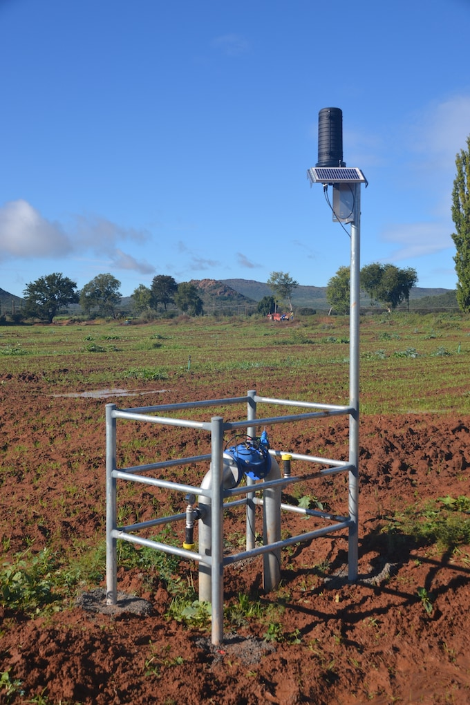Shock Wave Engineering - IoT Orchard and Permaset Optimiser wireless remote valve control station